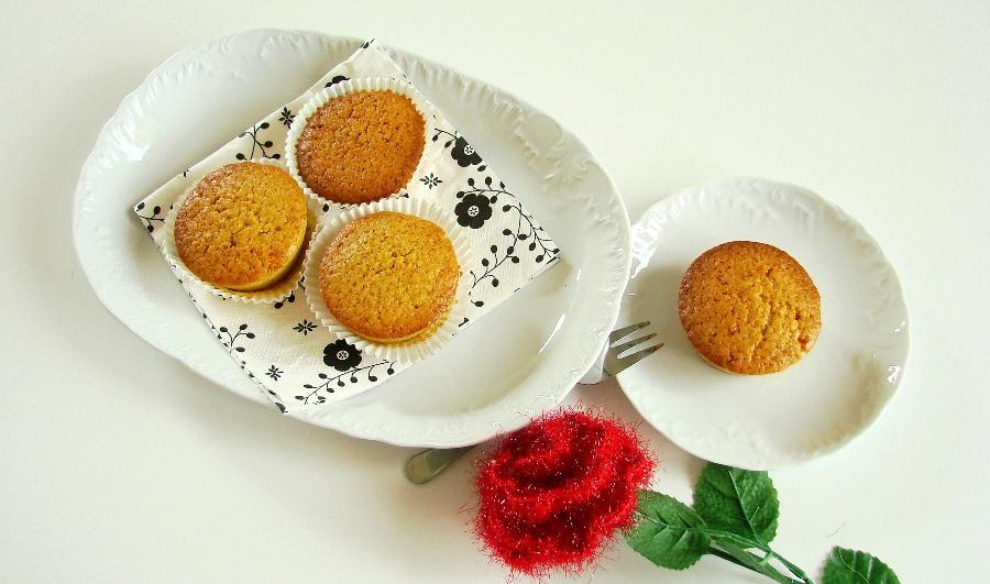 Muffinki z pomarańczą, imbirem i cynamonem