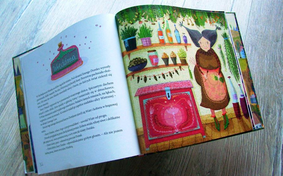 Ilustrowała Natalia Jabłońska
