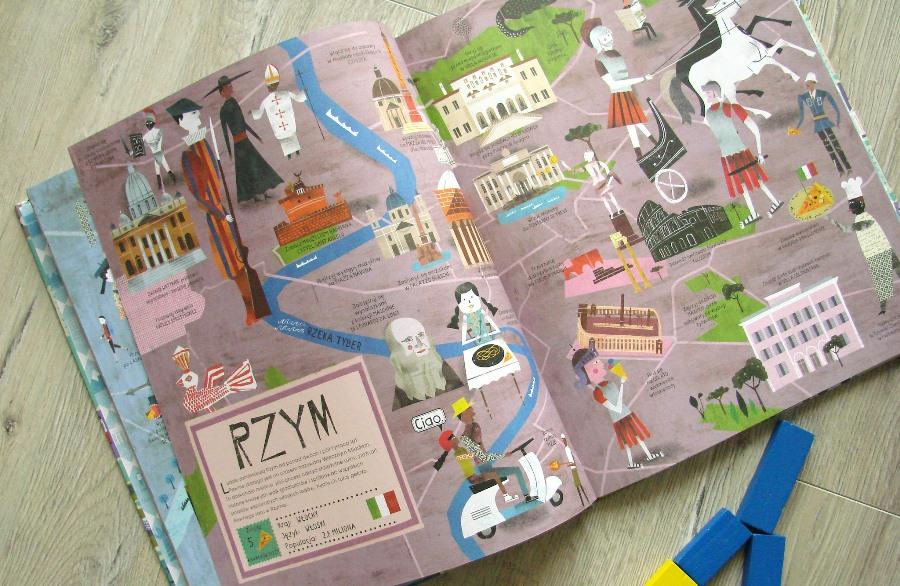 """Rzym w """"Atlasie miast"""""""
