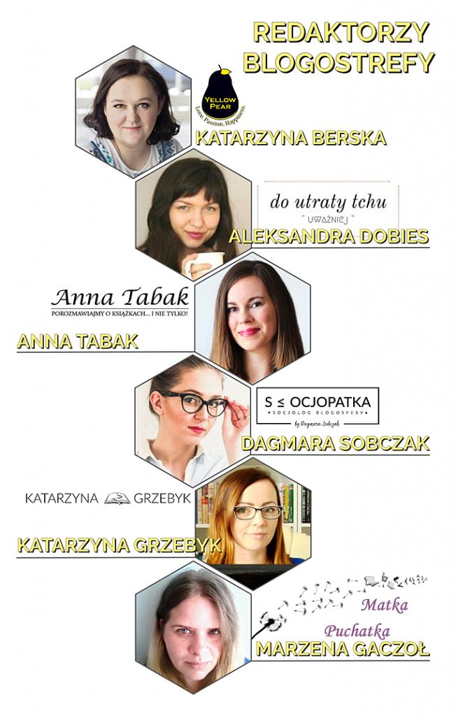 Blogostrefa, zespół redakcyjny