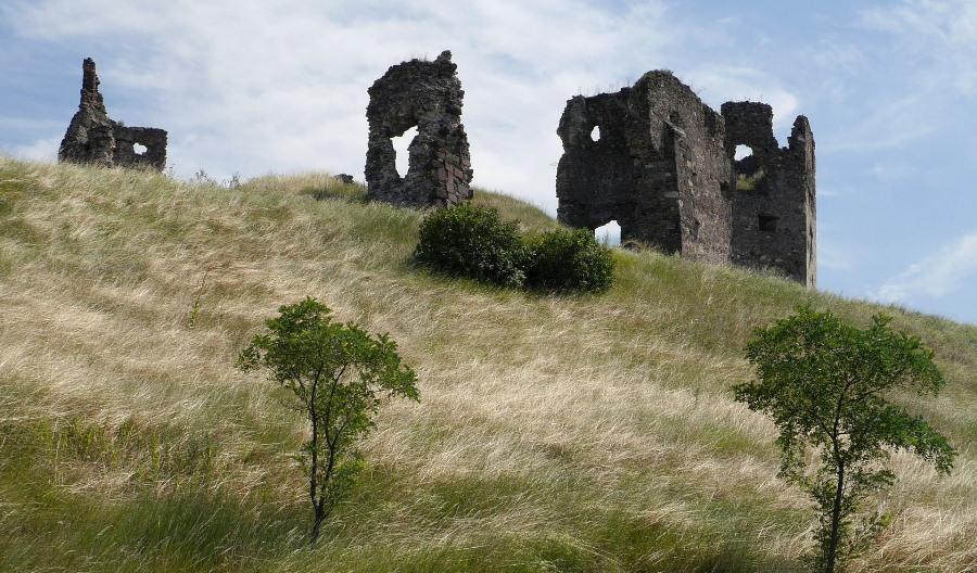 Słowacja, ruiny zamku, fot. Pixabay