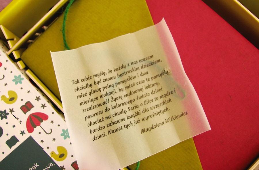 List od Magdaleny Witkiewicz