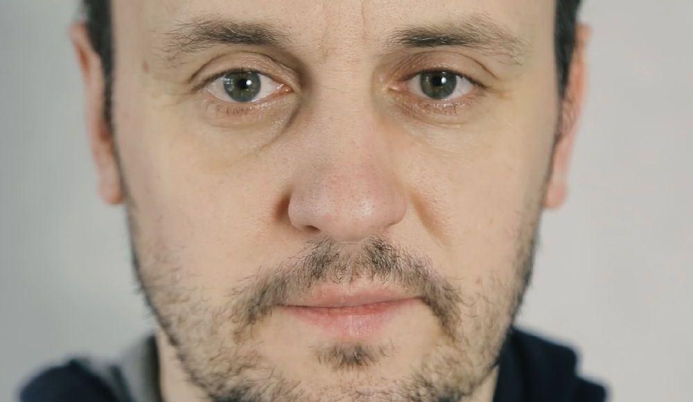 Adam Woronowicz w roli Jezusa