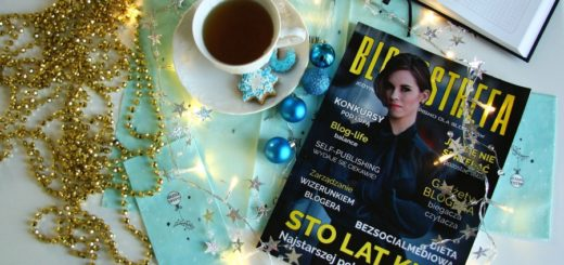 """""""Blogostrefa. Jedyne takie czasopismo dla blogerów"""""""