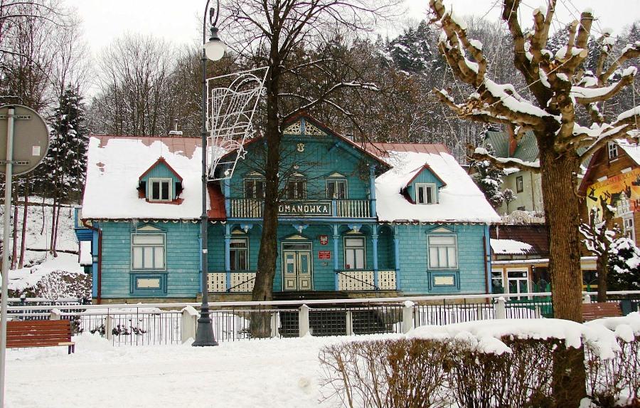 Muzeum Nikifora w Krynicy; willa Romanówka
