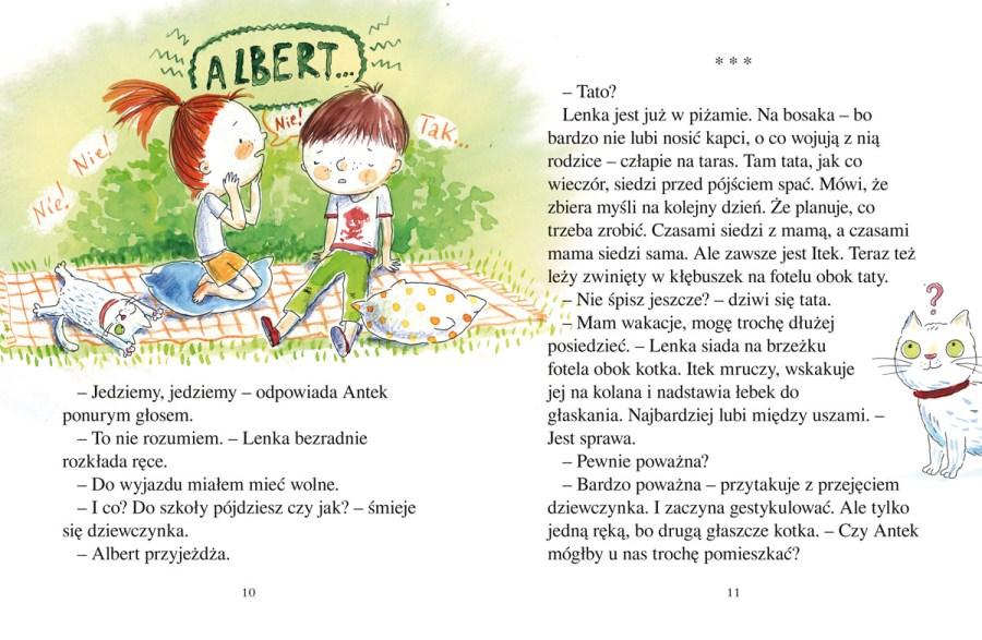 """""""O Lence, Antku i okropnym Albercie"""""""