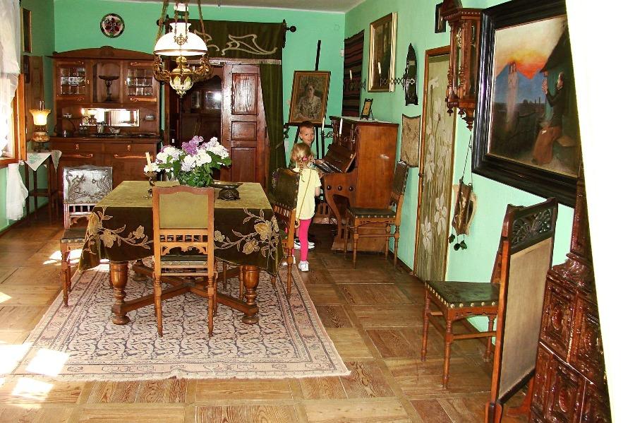 Gustowny salon