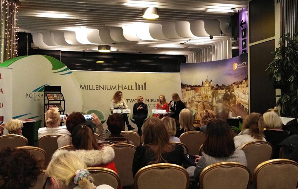 Panel z udziałem Magdaleny Skubisz, Anny Fryczkowskiej i Natalii Sońskiej