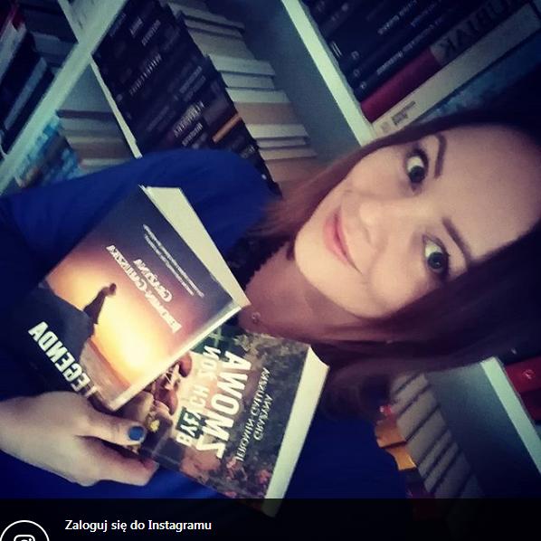 """Screenshot_2018-12-30 Katarzyna Grzebyk na Instagramie """"Niedawno dorwałam w naszej małej bibliotece dwie ostatnie powieści [...]"""
