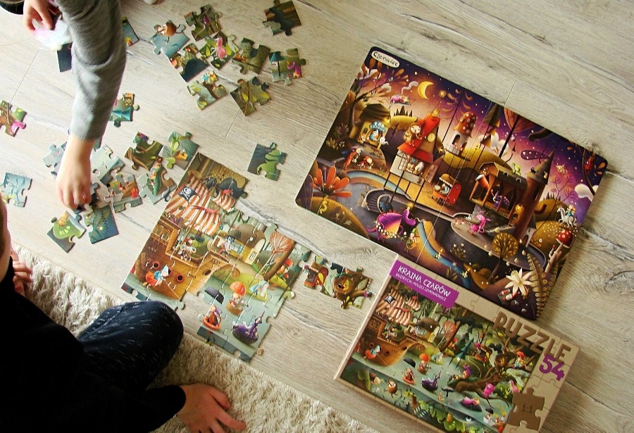 Kraina czarów, puzzle