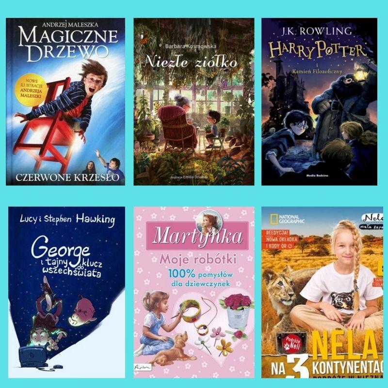 ksiązki dla dzieci 6-10 lat
