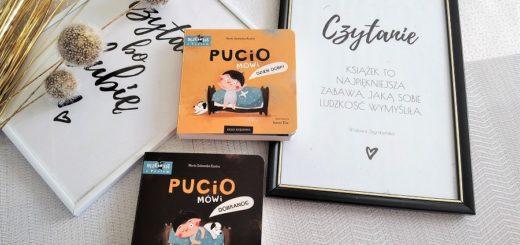 """""""Pucio mówi dzień dobry"""" """"Pucio mówi dobranoc"""""""